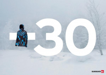 Quiksilver Clothing: -30, 1 Print Ad by Grey Istanbul
