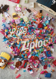 Ziploc: Toys Print Ad by Energy BBDO Chicago