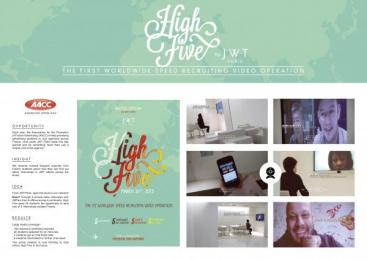 Jwt: HIGH FIVE Direct marketing by J. Walter Thompson Paris