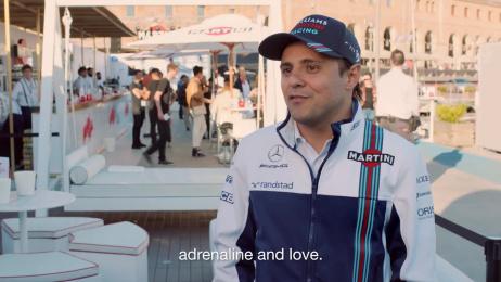 Martini: #JoyOfRacing Digital Advert by AMV BBDO London, AMV-Flare