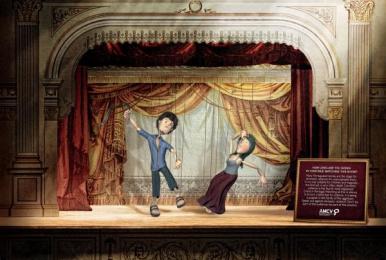 Associacao De Mulheres Contra A Violencia (AMCV): Marionetas Print Ad by Guerreiro DDB Lisbon