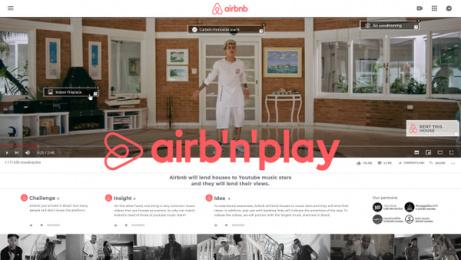Airbnb: Airbnplay - Case Study Print Ad