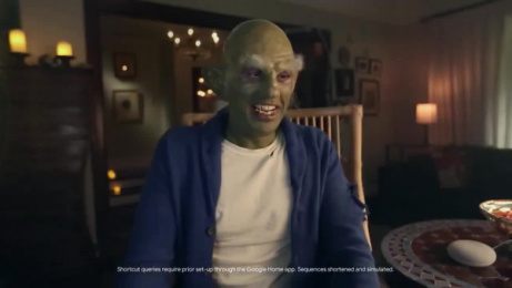 Google Nest: Halloween At Home: The Google House Haunter Film by The Swift Collective, Assassin Entertainment