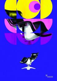 Vepsalainen Oy: Karuselli, Yrjö Kukkapuro (1964) [alternative color spectrum] Print Ad by Hasan & Partners Helsinki