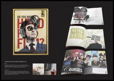 London Film Academy: LONDON FILM ACADEMY PROSPECTUS Print Ad by Christine Mercier
