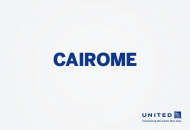 United  Airlines: Cairome Print Ad by Miami Ad School