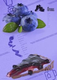 Natural da Terra: Blueberry Print Ad by Mp Publicidade