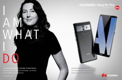 Huawei Mate10 Pro: I am What I Do, 6 Print Ad by Doner