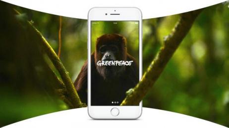 Greenpeace: Virtual Explorer, 1 Digital Advert by AllofUs