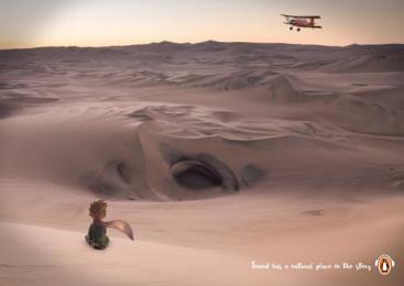 Penguin Books: Natural Place Print Ad by Miami Ad School Hamburg