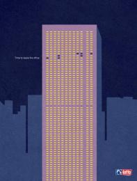 Lotto: Office Print Ad by Acw Grey Tel-Aviv