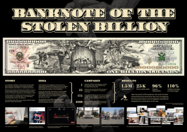 Tv8: Banknote of the Stollen Billion, 2 Case study by Piko