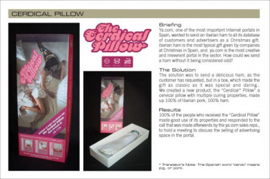 Ya.com: CERDICAL PILLOW Direct marketing by Remo D6