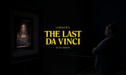 Christie's: The Last da Vinci [image] Print Ad by Chelsea Pictures, Droga5 New York