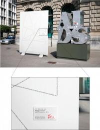 DU Kulturmagazin: Eyetracking of AIDS Sculpture Outdoor Advert by Euro Rscg Zurich