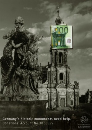 Fund For Preservation Of Historic Monuments: DRESDEN Print Ad by Ogilvy & Mather Frankfurt