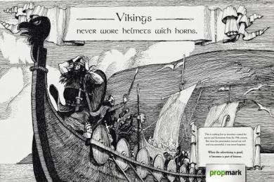 Propaganda & Marketing Newspaper: Vikings Print Ad by Age Comunicacoes Sao Paulo