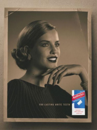 Xylifresh Chewing Gum: WOMAN II Print Ad by S-w-h