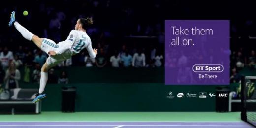 Bt Sport: Bale Print Ad by AMV BBDO London