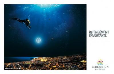 Ile de la Reunion Tourisme (IRT): Scubadiving Print Ad by Havas Reunion