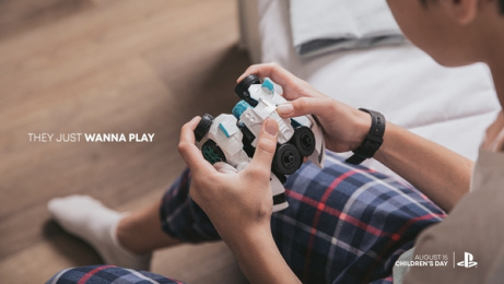 Sony Playstation: They Just Wanna Play, 1 Print Ad by WILD FI