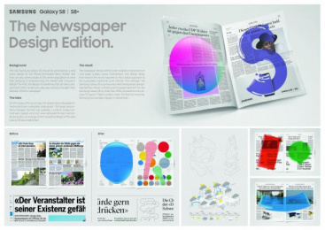 Samsung: Case study Print Ad by Jung Von Matt/Limmat Zurich