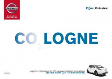 Nissan: Cologne Print Ad by Jung von Matt/365 GmbH Hamburg Germany, TBWA\ Dusseldorf