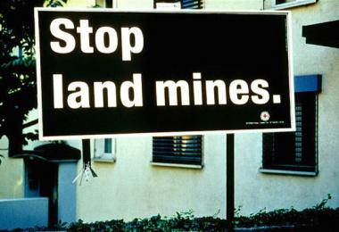 International Committee Of The Red Cross (icrc): STOP LANDMINES Print Ad by McCann Erickson Geneva