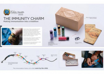 Ministry Of Public Health: Immunity Charm [image] 2 Direct marketing by McCann Erickson Mumbai, McCann Health Mumbai