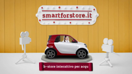 Smart: #smartFORstore The Experience Commerce  Film by Roncaglia & Wijkander