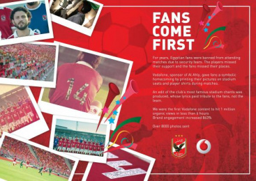 Vodafone: Fans Come First [image] Case study by J. Walter Thompson Cairo, Magic Beans film
