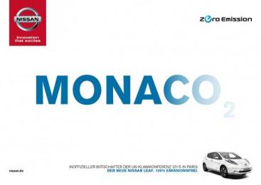 Nissan: Monaco Print Ad by Jung von Matt/365 GmbH Hamburg Germany, TBWA\ Dusseldorf