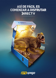 DirecTV: It's that easy to start enjoying with DIRECTV, 3 Print Ad by Grey Colombia