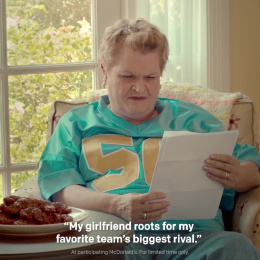 McDonald's: Sweet N' Spicy Advice: Football Film by We Are Unlimited