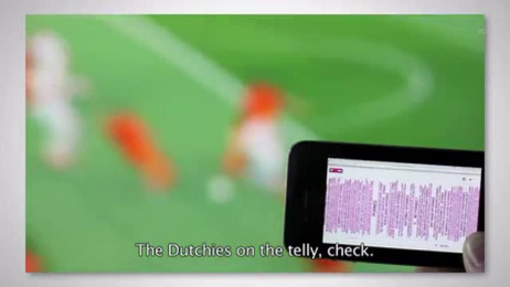 T-Mobile: TWITTER COMMENTARY Film by Etcetera Amsterdam