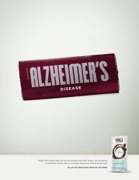 Tru Chocolate: Tru - Alzheimer's Disease Print Ad by MMB