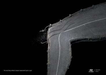 Hyundai: Knee Print Ad by 4am Saatchi & Saatchi Honduras