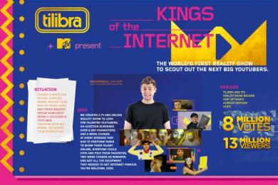 Tilibra: O Rei Da Internet [image] Digital Advert by Talent Marcel
