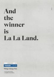 O Estadao De Sao Paulo: La La Land Print Ad by FCB Sao Paulo