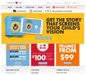 OPSM: Penny the Pirate, 3 Digital Advert by OMD Sydney
