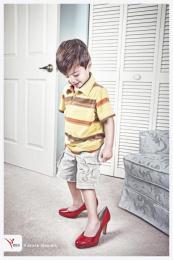 Rdca Academy Of Martial Arts: high heels Print Ad by Zubi Advertising