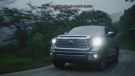 Toyota: Tundra Power World Cup Coffee Film by Conill Advertising Los Angeles
