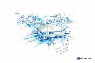 Subaru: The Art Of Driving, 1 Print Ad by I N D E P E N D I E N T E Panama City