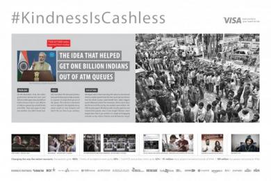 Visa: #Kindnessiscashless [image] Film by BBDO Mumbai, Red Ice Films