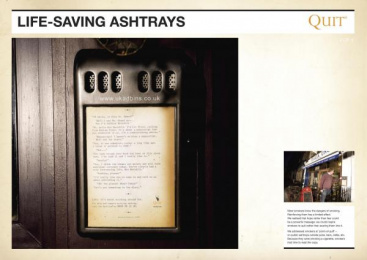 Quit: NOVELIST Ambient Advert by Saatchi & Saatchi London