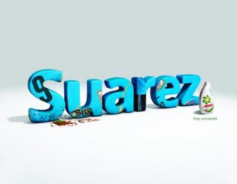Ariel: Suarez Print Ad by BBR Saatchi & Saatchi Israel