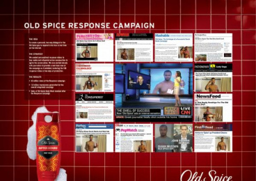 Old Spice: RESPONSE CAMPAIGN Promo / PR Ad by PainePR, Wieden + Kennedy