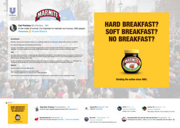 Marmite: The brand that took a stand, 3 Print Ad by Oliver Group UK