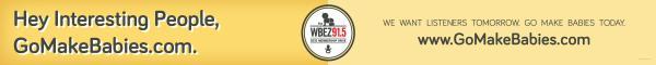 WBEZ 91.5FM: HEY TRESTLE Print Ad by Xi Chicago