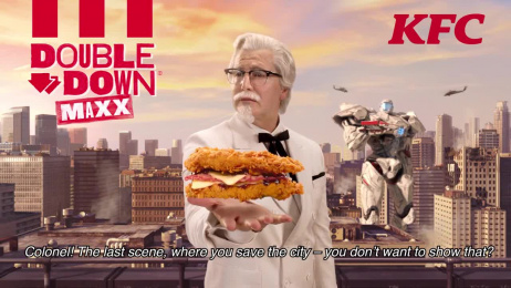 Kentucky Fried Chicken (KFC): Double Down Maxx [video] Film by Sid Lee Paris
